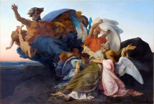 """Cabanel was a French painter born in Montpellier, Hérault in 1823, exemplifying L'art pompier, or as it has become known in English, """"the academic style."""""""